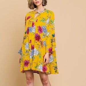 Umgee Floral Print Dress or Tunic